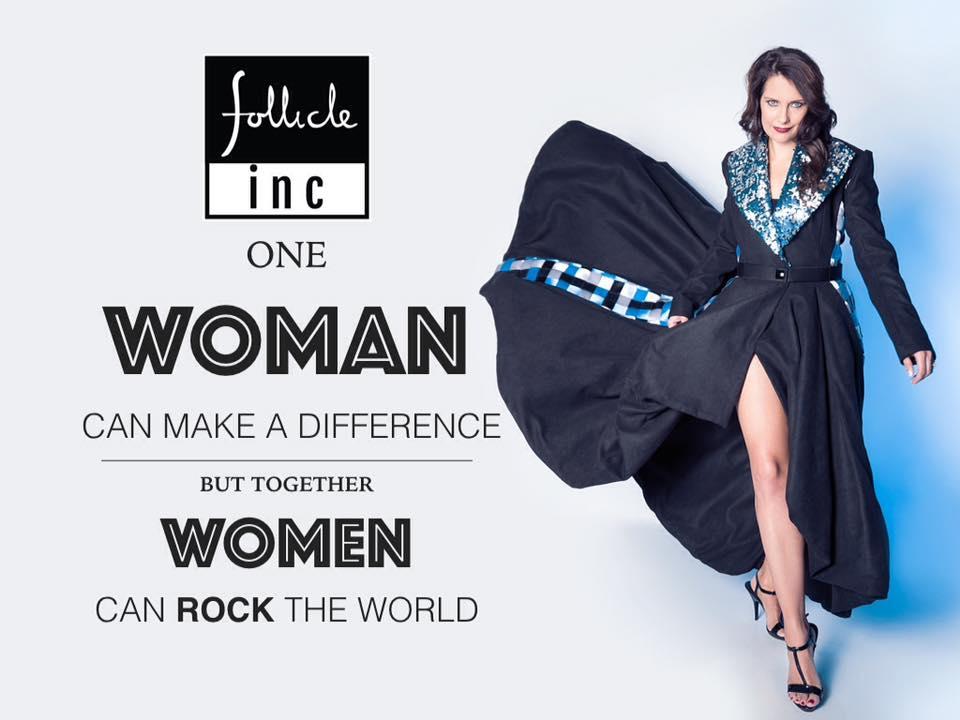 Follicle Brand Ambassador – Juanita De Villiers